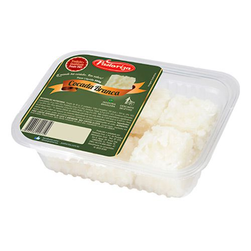 Cocada Branca 200g - Caixa com 6 bandejas - 1,2 kg