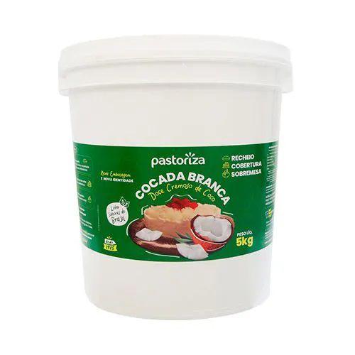 Cocada Branca Cremosa Balde 5kg