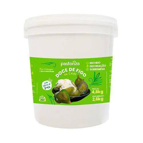 Doce de Figo em Calda Balde 4,8kg