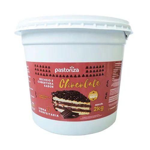 Recheio e Cobertura Sabor Chocolate Pote 2,01 kg