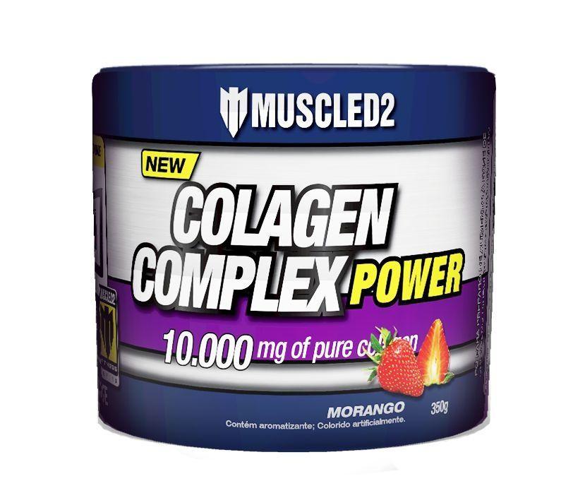 COLAGEN COMPLEX MORANGO 350g