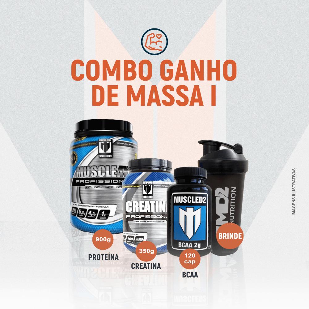 COMBO GANHO DE MASSA -