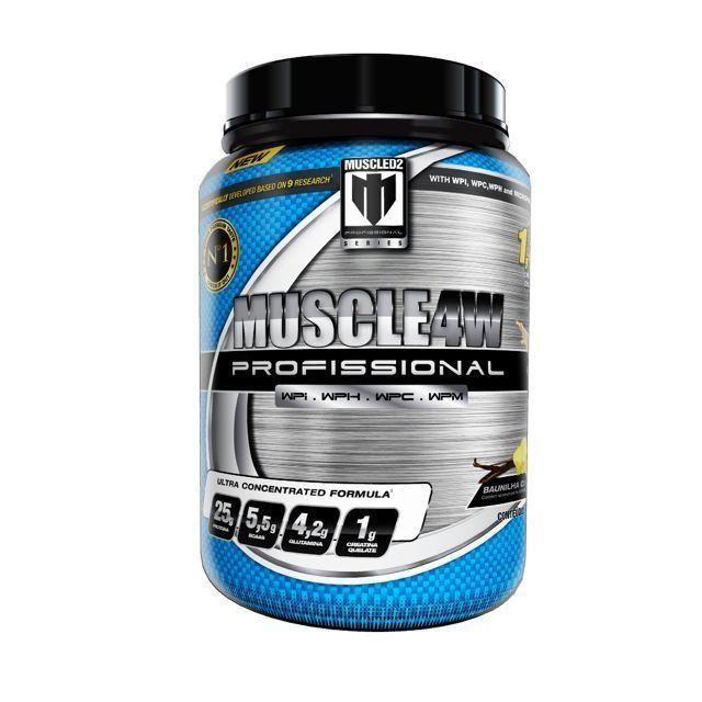 MUSCLE4W CHOCOLATE - WHEY PROTEIN MICRONIZADO 900g