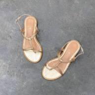 Sandália Nó Ouro