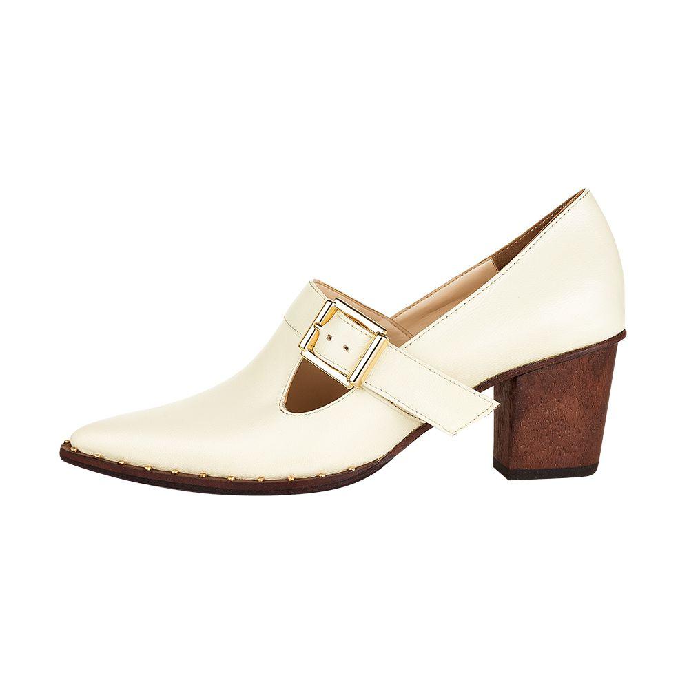 Sapato Elizabeth Off-White