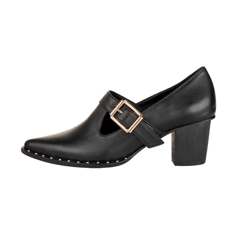 Sapato Elizabeth Preto