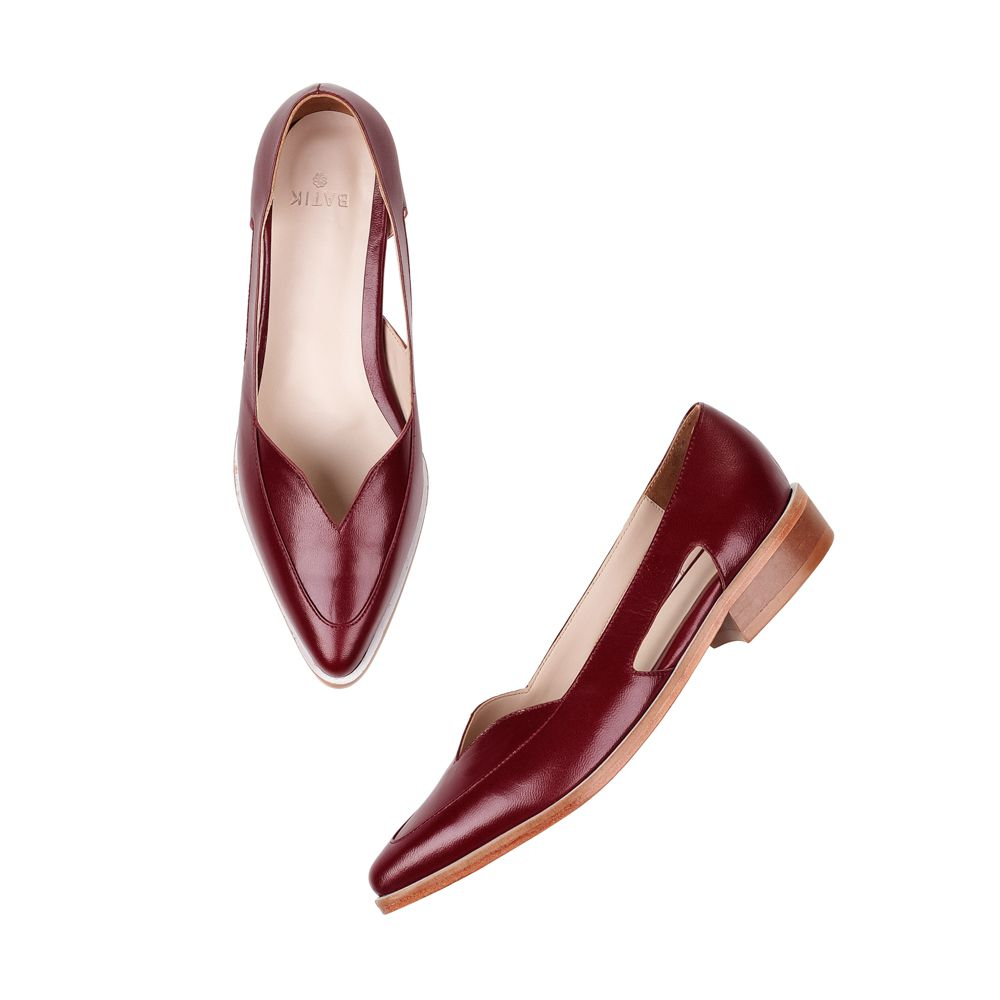 Sapato Sixties Bordô II