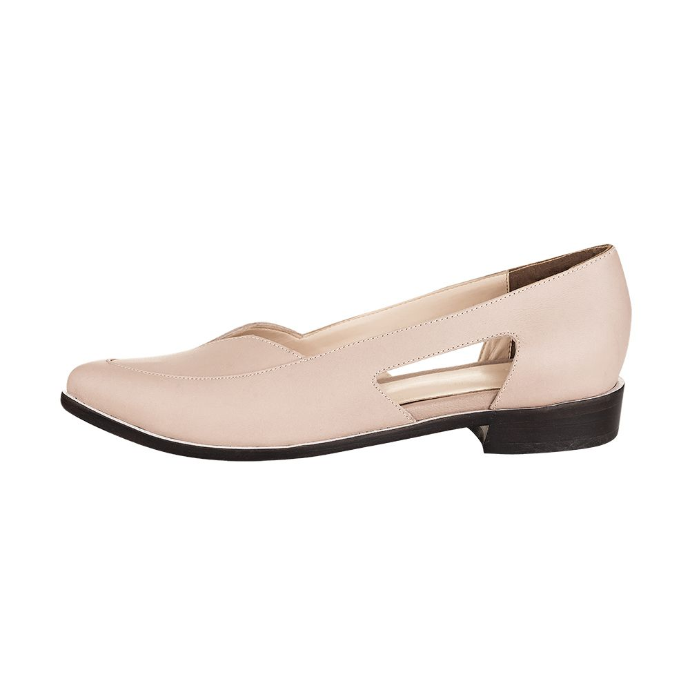 Sapato Sixties Nude II