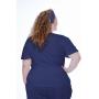 Scrub Confort Azul Marinho| Plus Size