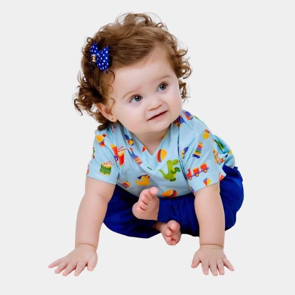 KIT Scrub Conjunto Brinquedos | Adulto + Infantil