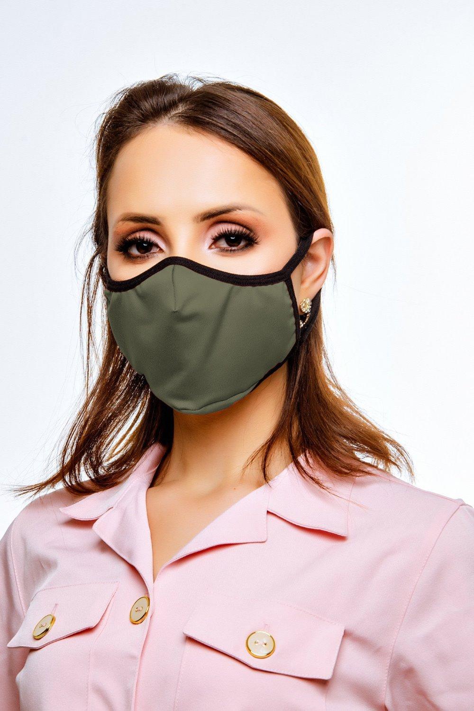 Máscara de Proteção Verde Militar