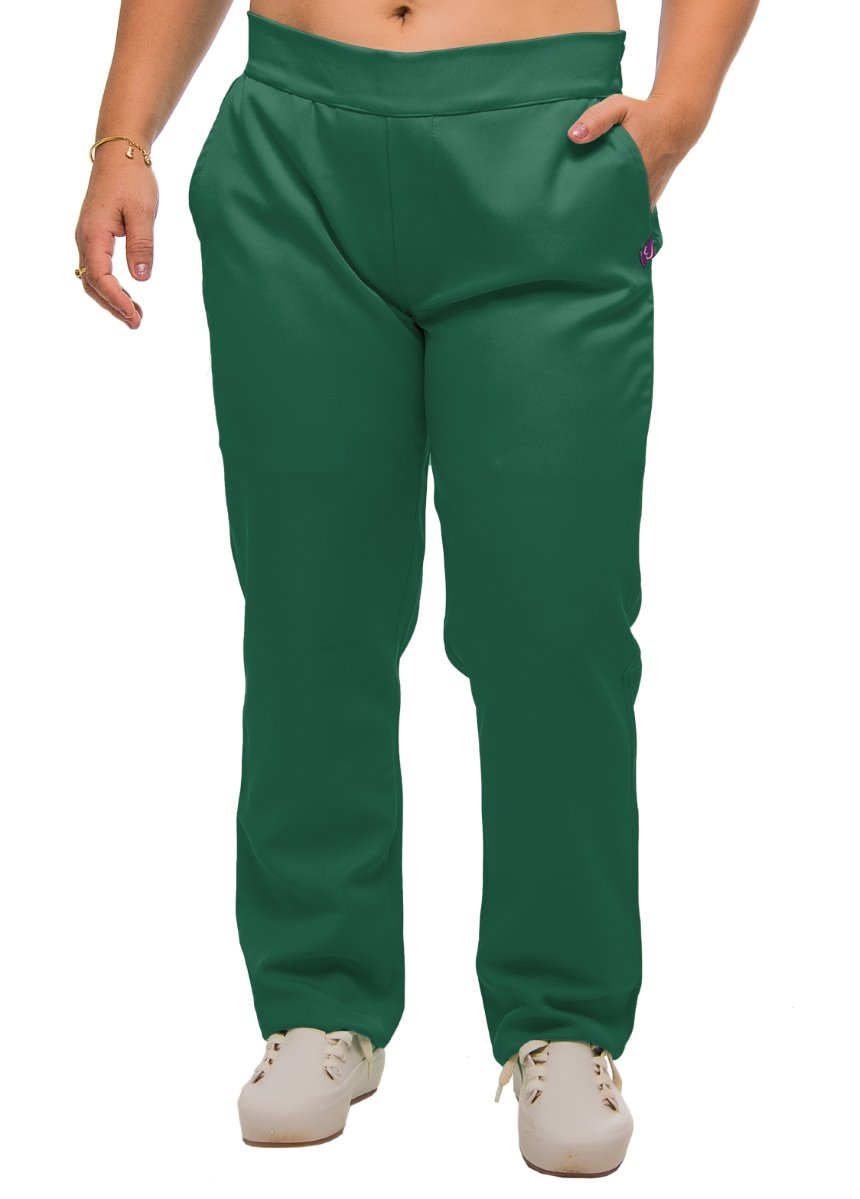 Scrub Calça Ana Verde Bandeira - Microfibra