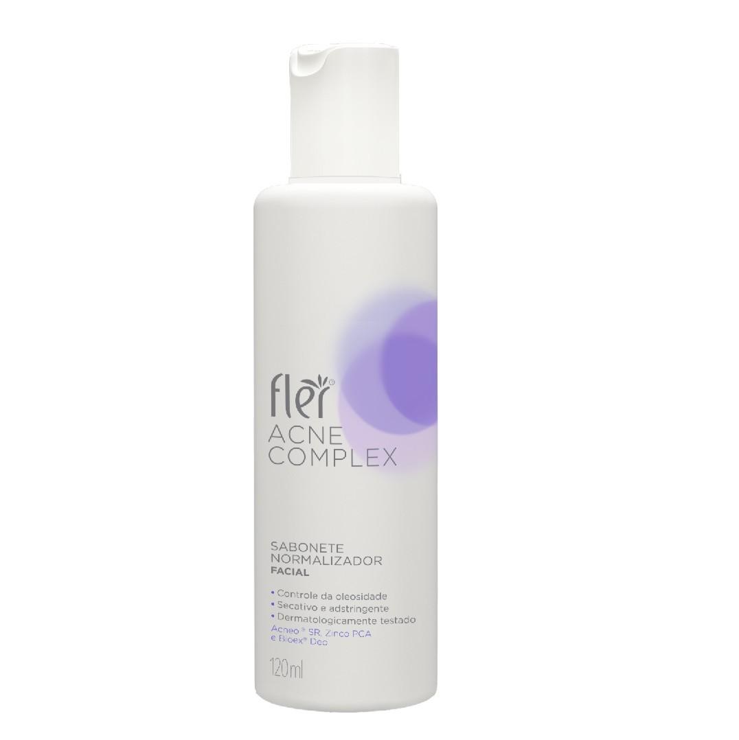 Acne Complex Sabonete Normalizador 120 ml - Fler