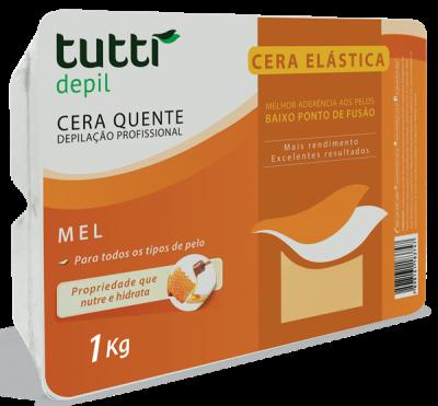 Cera Elástica Mel Tutti Depil 1Kg