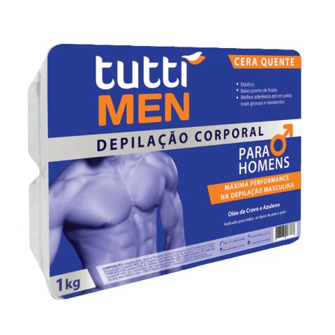 Cera Elástica Tutti Men 1Kg