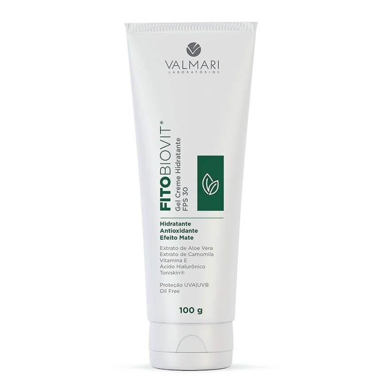 Fitobiovit Gel Creme Hidratante FPS 30 UVA/UVB 100g - Valmari