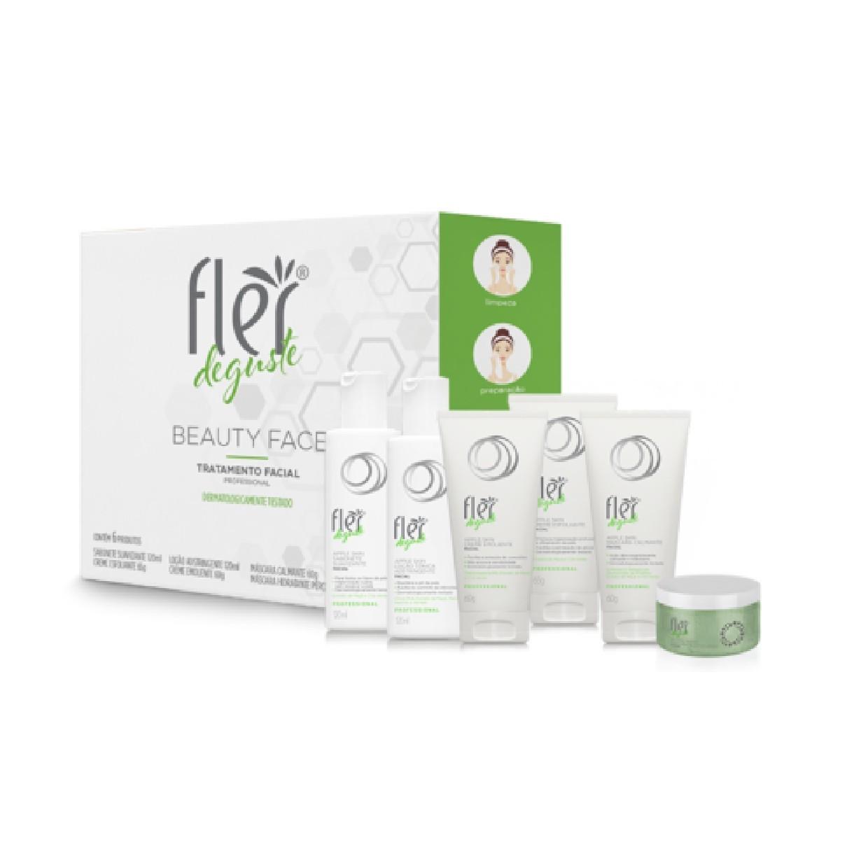 Kit Deguste Beauty Face Tratamento Facial - Fler