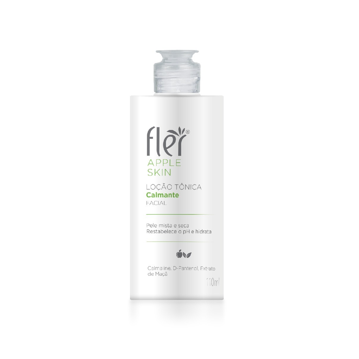 Loção Tônica Calmante Facial Apple Skin 110ml - Fler