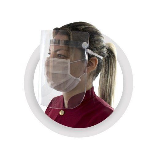 Máscara Face Shield Protetor em Acrílico