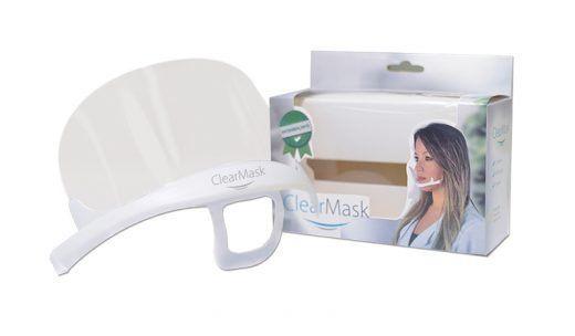 Máscara Facial de Proteção Clear Mask