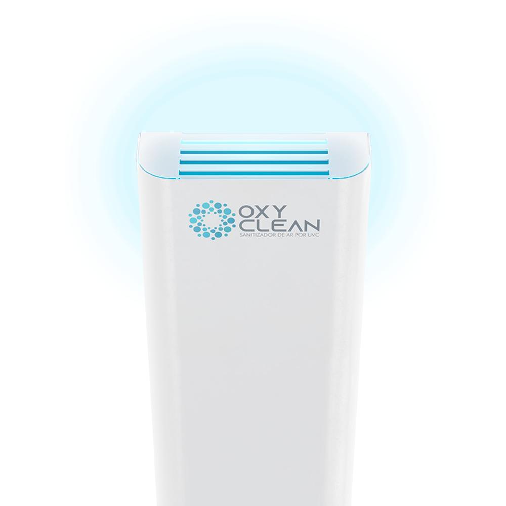 Oxy Clean Purificador e Sanitizador de Ar por UVC - MM OPTICS