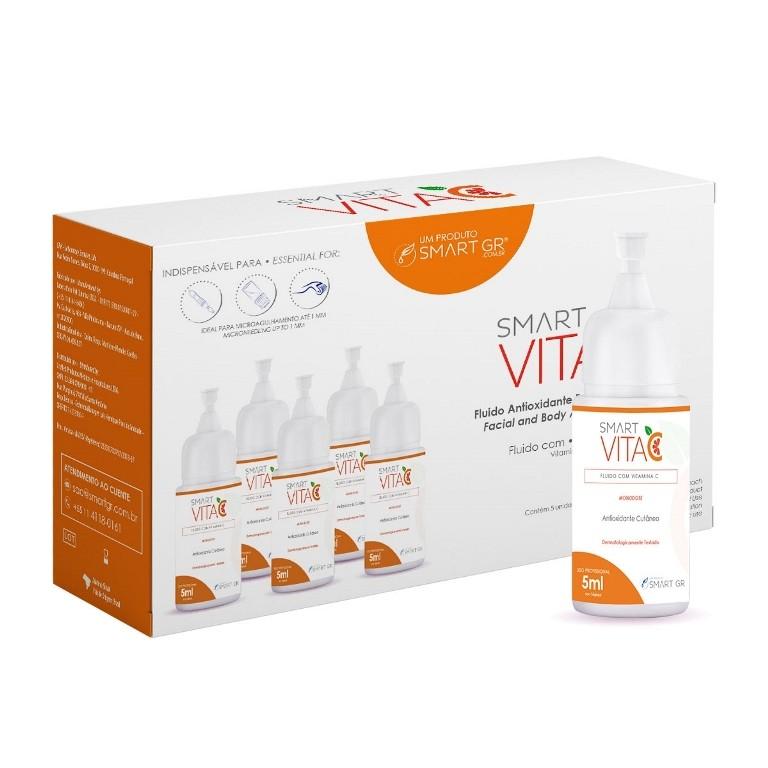 Smart Vita C Antioxidante Cutâneo 5 Monodoses de 5 mL - Smart GR