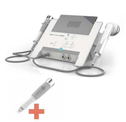 Sonic Compact Maxx HTM - Ultrassom e Correntes para Estética e Fisioterapia com Aplicador Facial