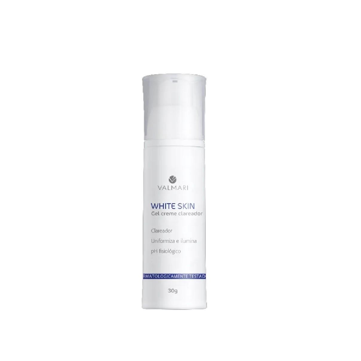 White Skin Gel Creme  30g - Valmari