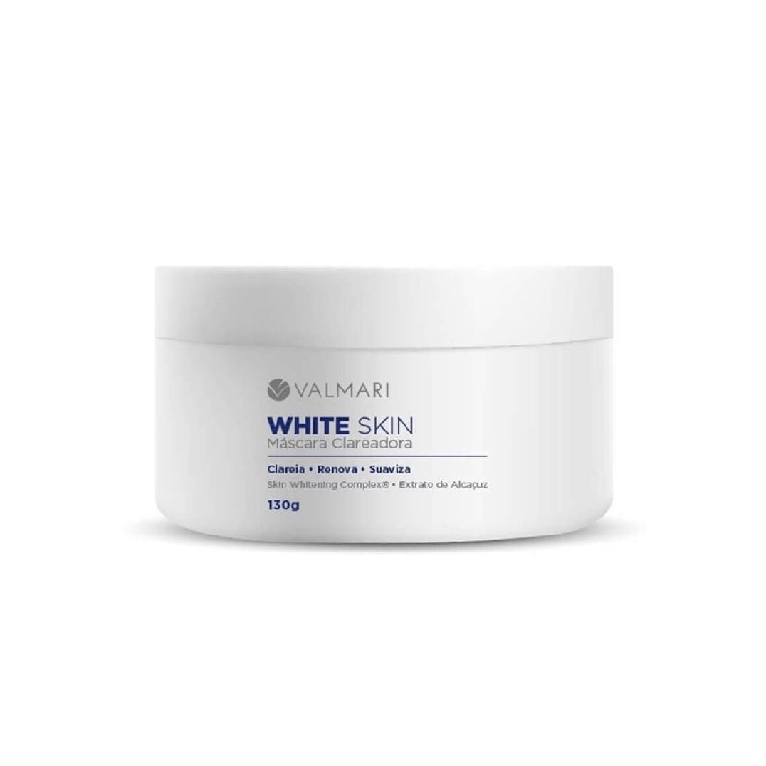 White Skin Máscara Clareadora 130g - Valmari