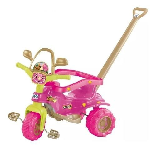 Triciclo Tico Tico Dino Pink Magic Toys
