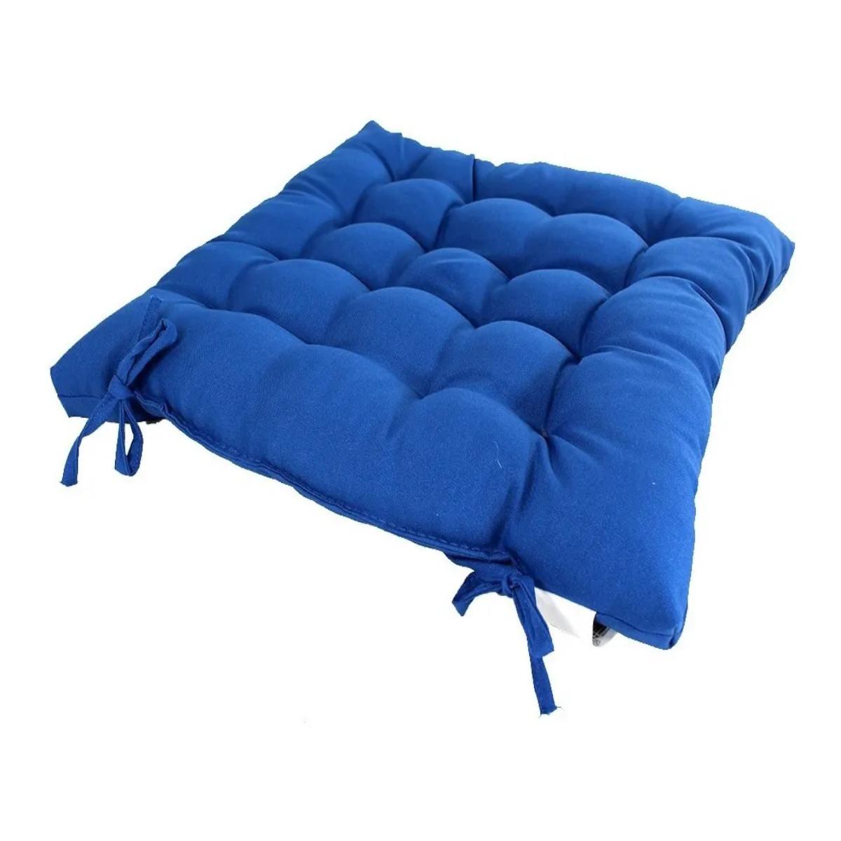 Assento Para Cadeira Futon azul