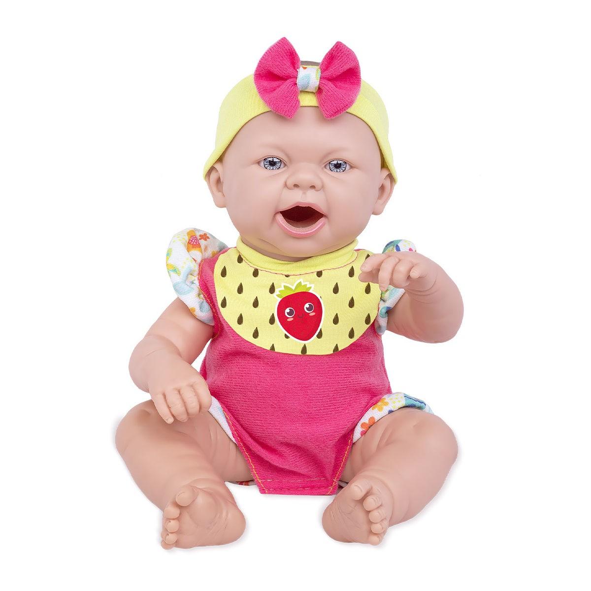 Baby Ninos Hora do Lanche Boneca Reborn 2406 Cotiplás