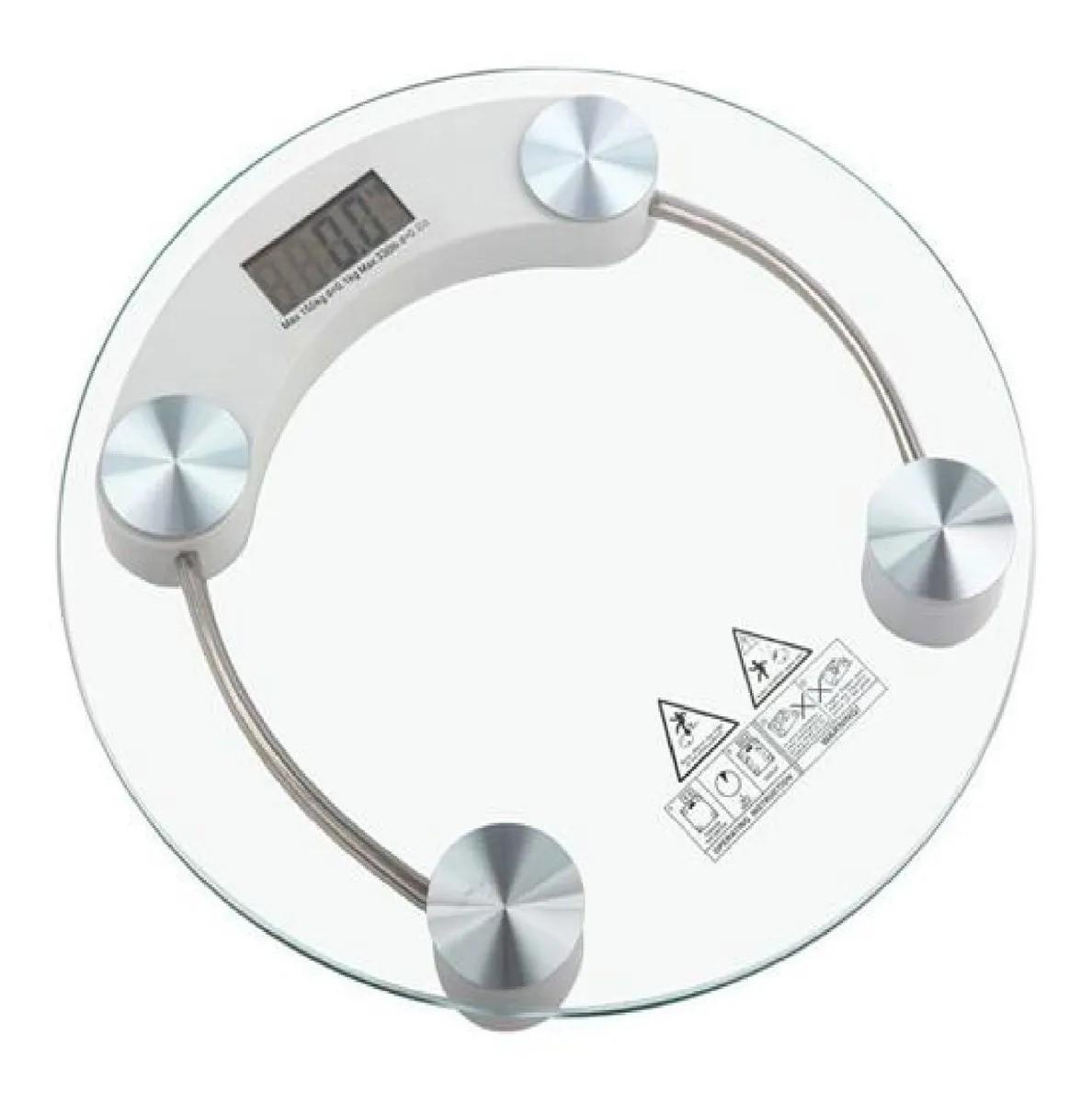 Balança Digital Vidro Dieta Banheiro Clinica Academia 180kg