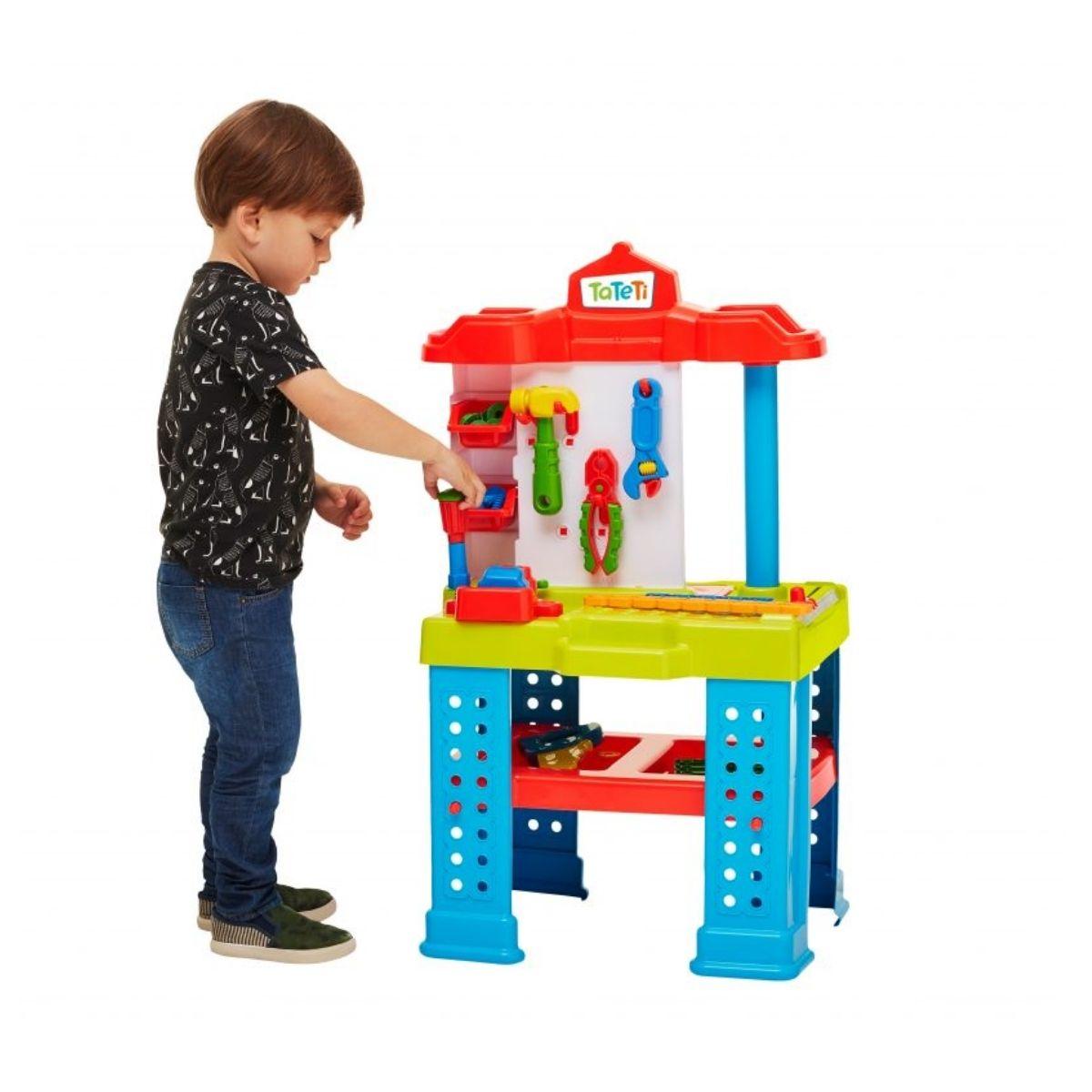 Bancada De Trabalho Ferramentas Brinquedo Infantil
