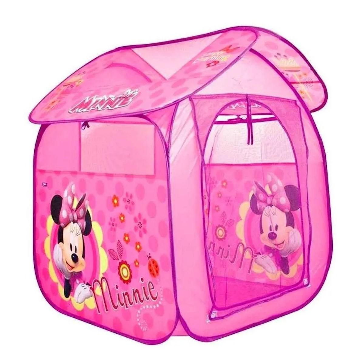 Barraca Portátil Casa da Minnie Dobrável Infantil Zippy