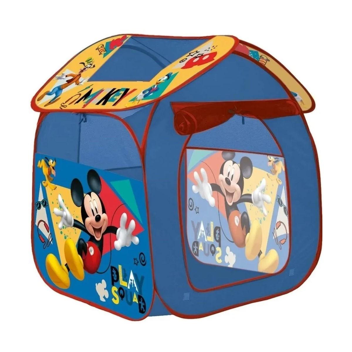 Barraca Portátil Mickey Dobrável Infantil Zippy Toys 6376