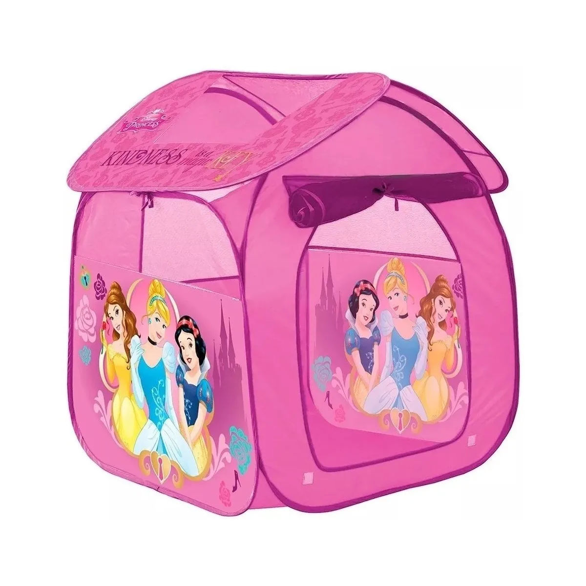 Barraca Portátil Princesas Dobrável Infantil Zippy Toys 3864