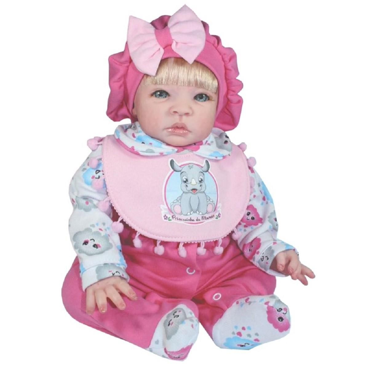 Bebê Reborn Pintada A Mão Realista Coleção Doll Realist