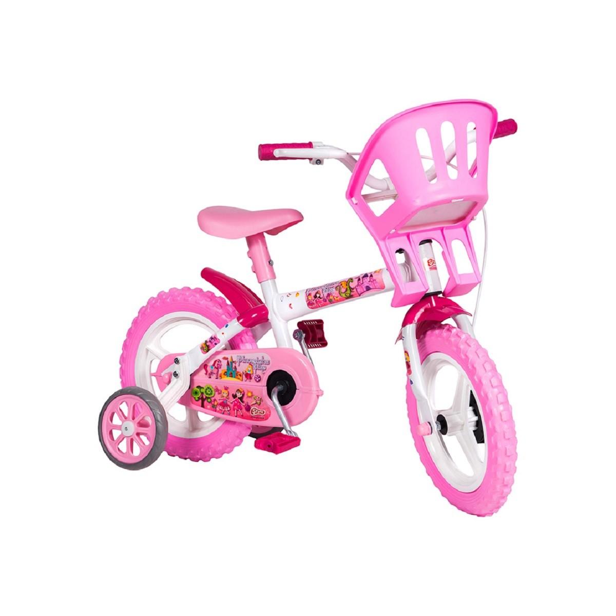 Bicicleta infantil Aro 12 PRINCESINHA STYLL BABY