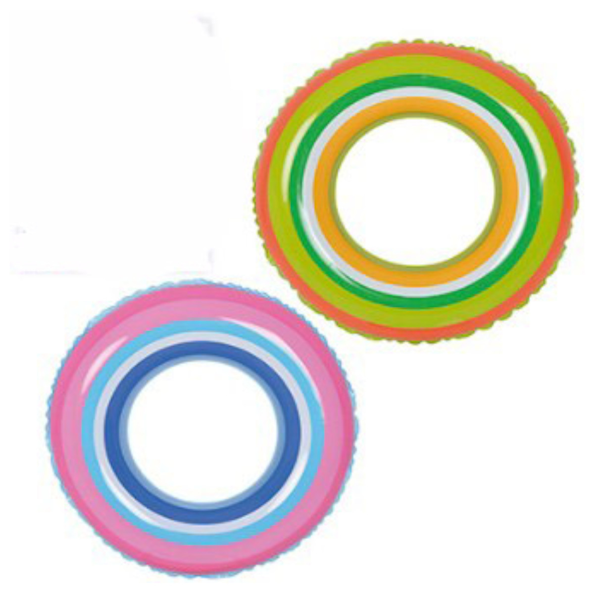 Boia inflável colorida