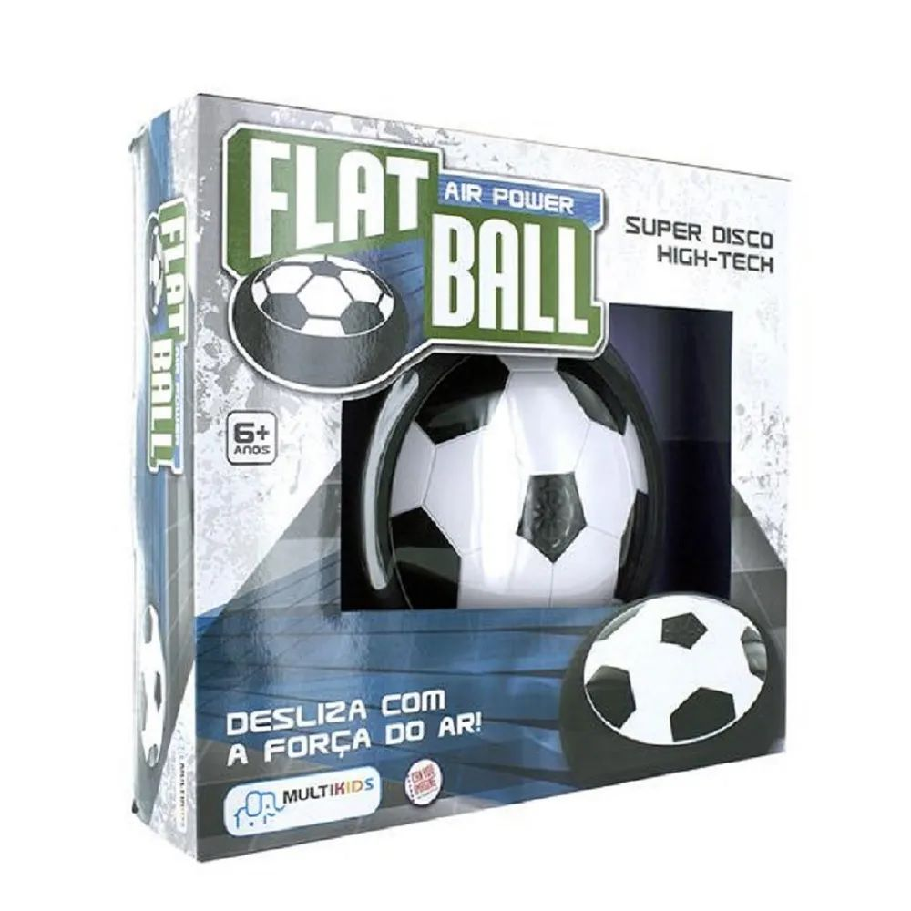 Bola Flat Ball Air Power Disco Flutuante Multikids