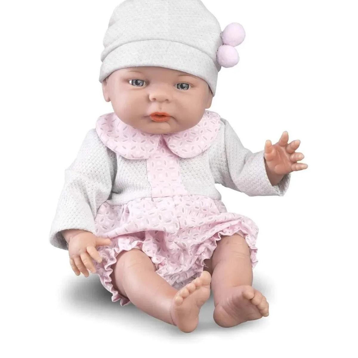 Boneca Babies Hora da Vacina Estilo Reborn Com Acessórios 5069