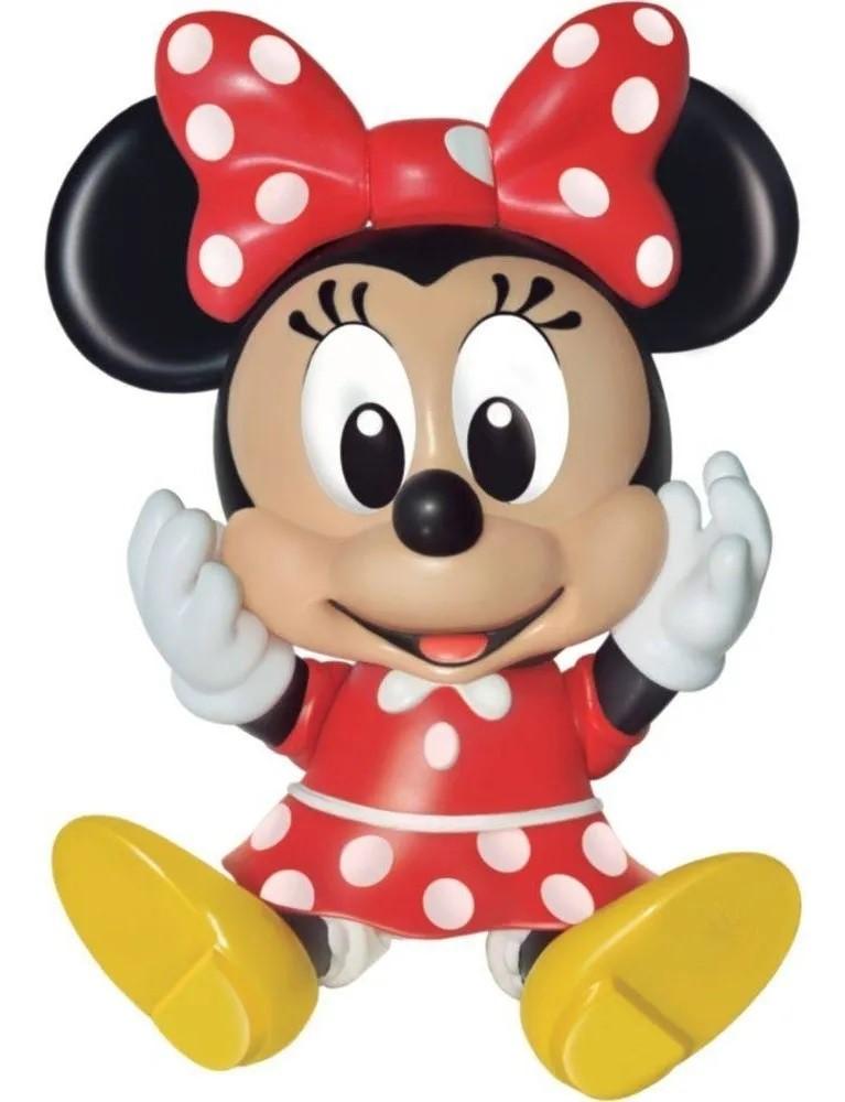 Boneca Minnie Baby Vinil Líder 2725