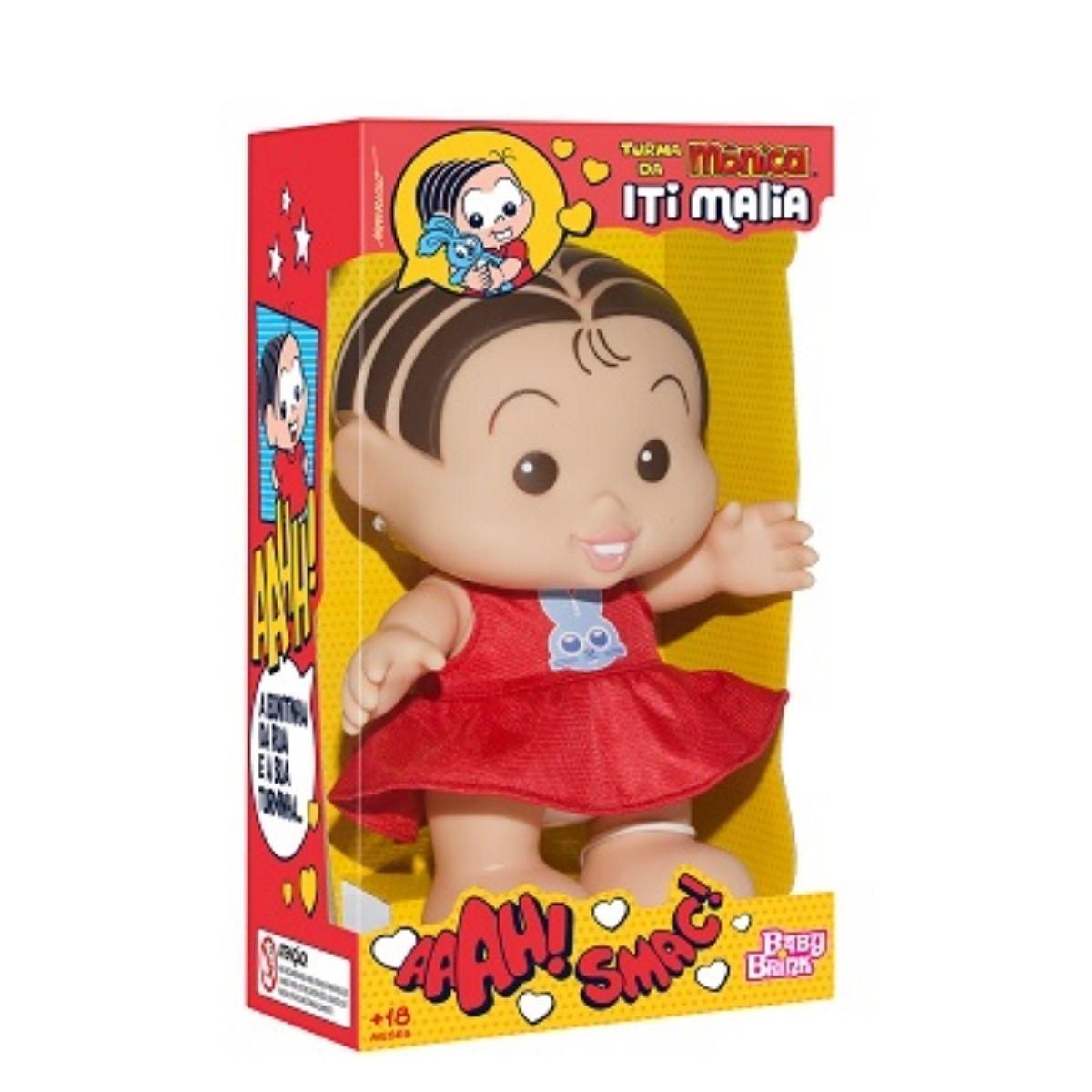 Boneca Mônica Turma Da Mônica - Coleção Iti Malia