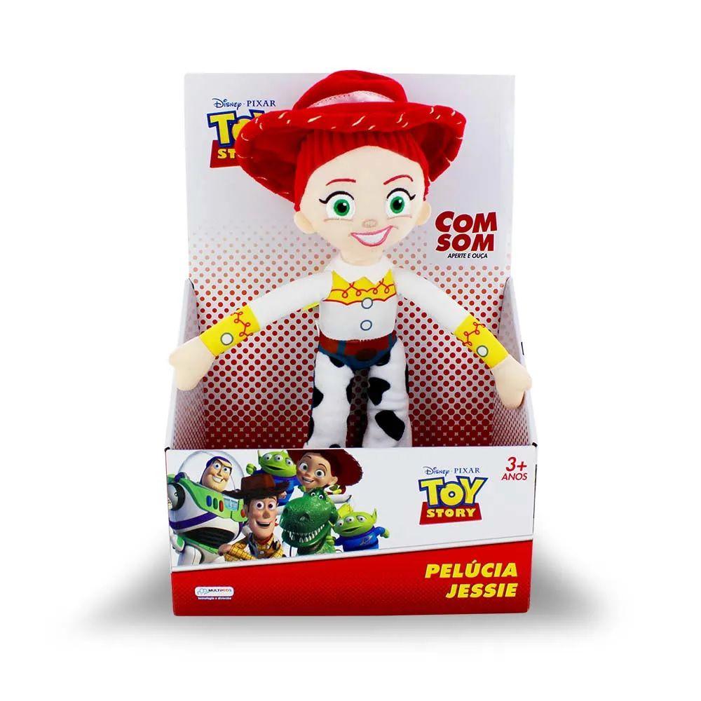 Boneca Pelúcia Jessie Toy Story Com Falas Multikids