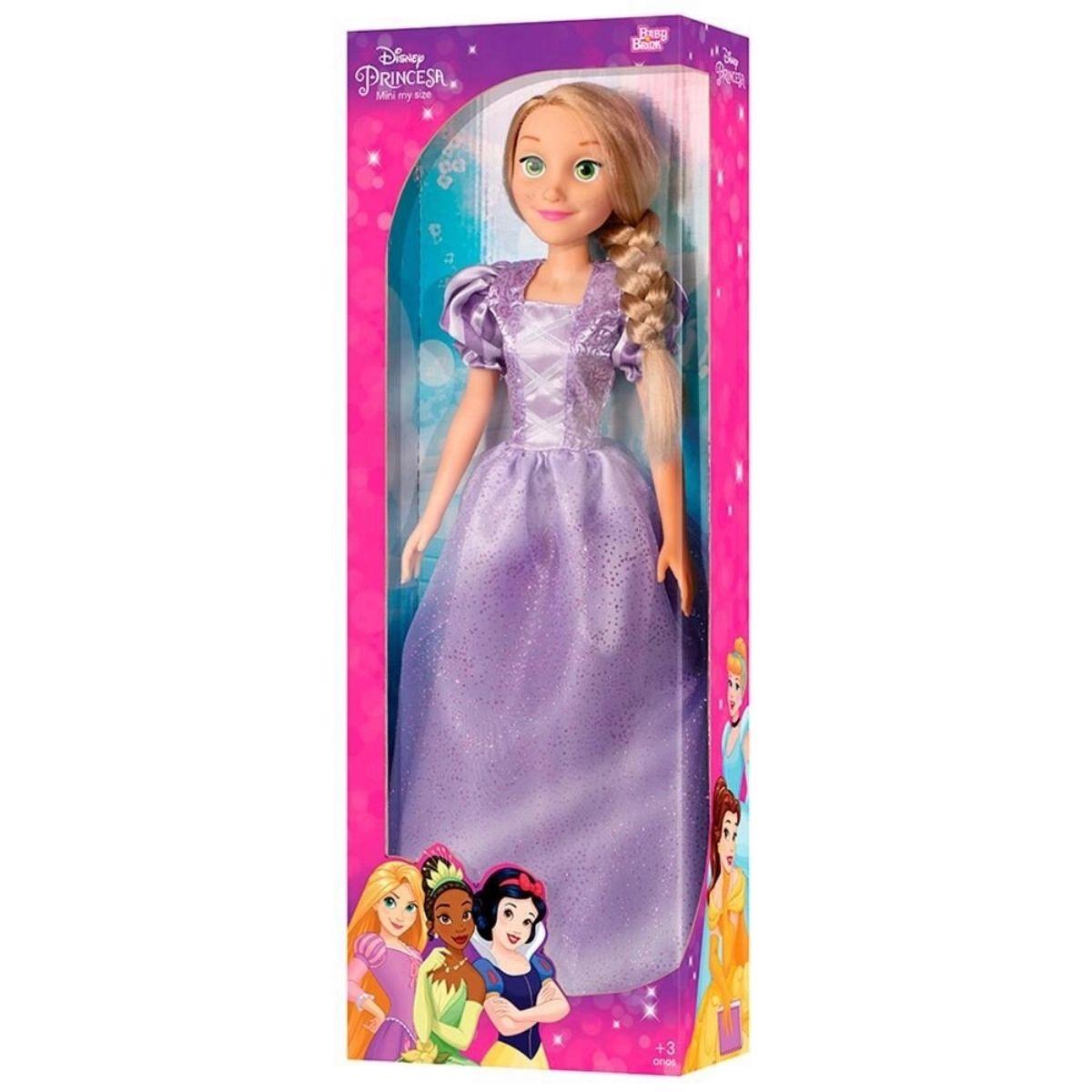 Boneca Rapunzel Mini My Size Disney - Baby Brink