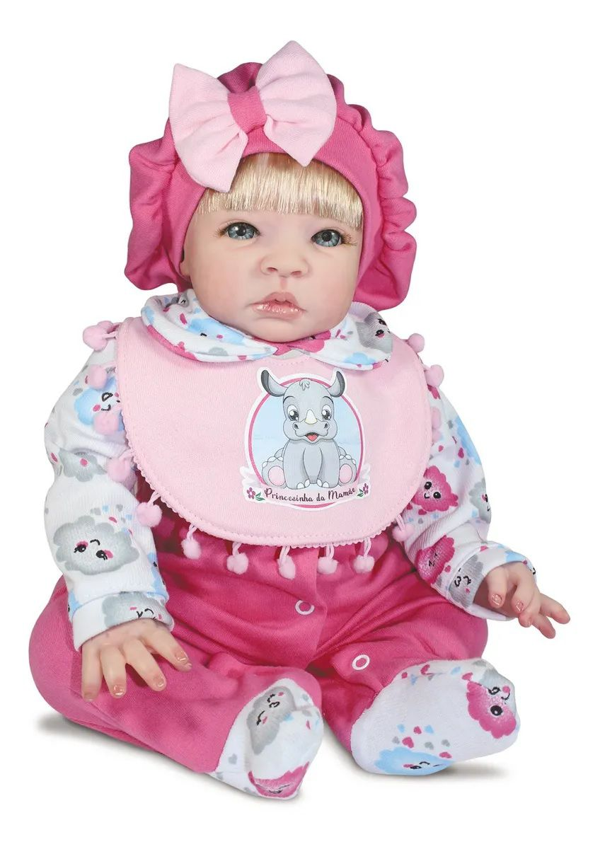 Boneca Bebe Reborn Brianna Doll Realist Sid Nyl