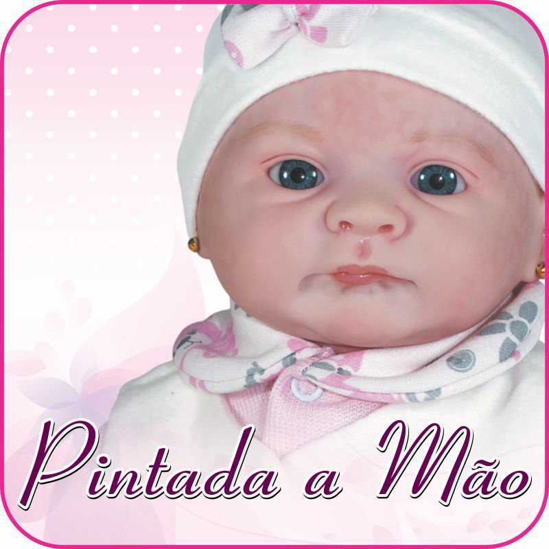 Boneca Reborn Layla Coleção Doll Realist  Sid Nyl