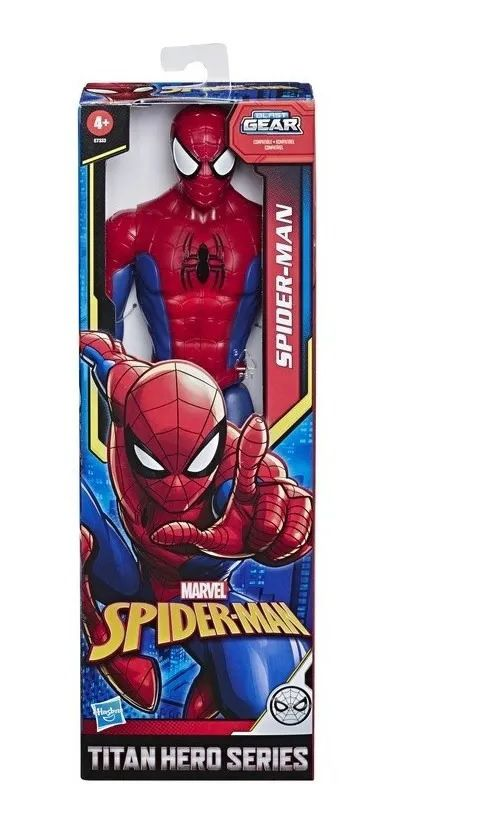 Boneco Homem Aranha Marvel Titan Gear Hasbro