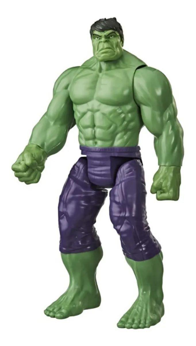 Boneco Hulk Avengers Blast Gear Deluxe Hasbro